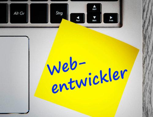 Webentwickler gesucht